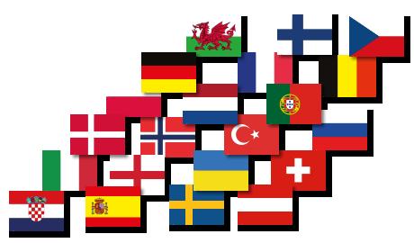 Das ultimative Tischset-Paket zur Fußball-EM 2020